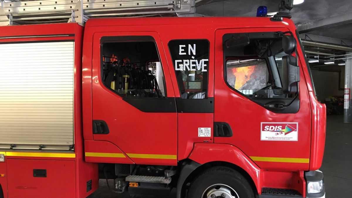 Gironde : des pompiers en grève et des gardes de plus de 24h, des secours à bout de souffle