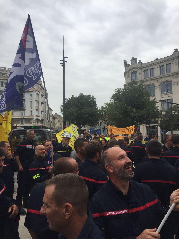Manifestation à valence le 10 septembre 2019