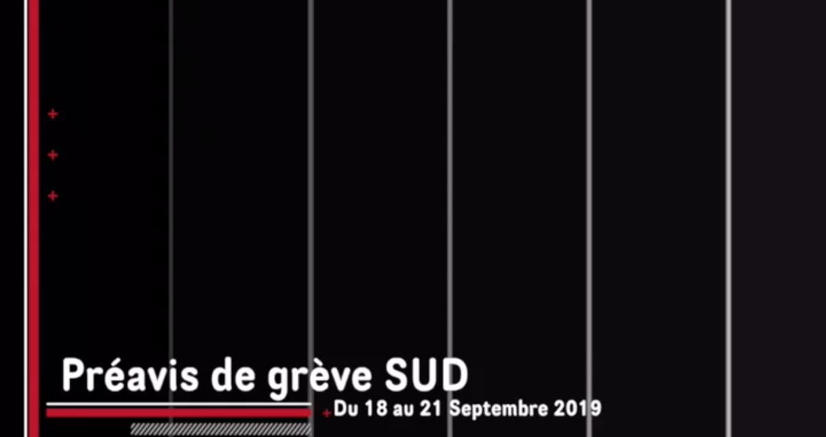 Vidéo sur le parvis de grève du 18 au 21 septembre 2019