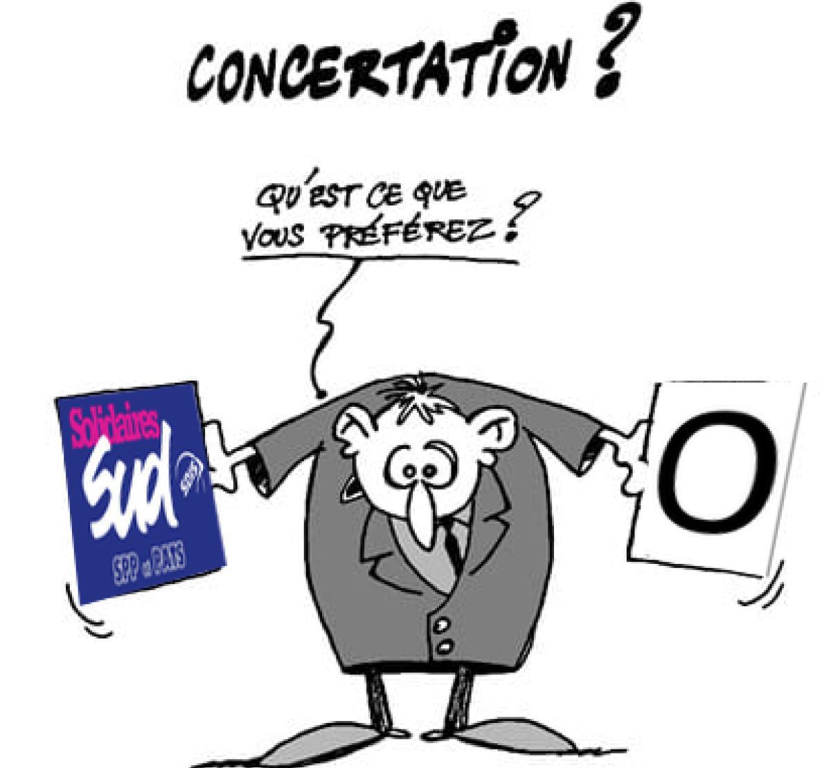 Concertation à la DGSCGC.
