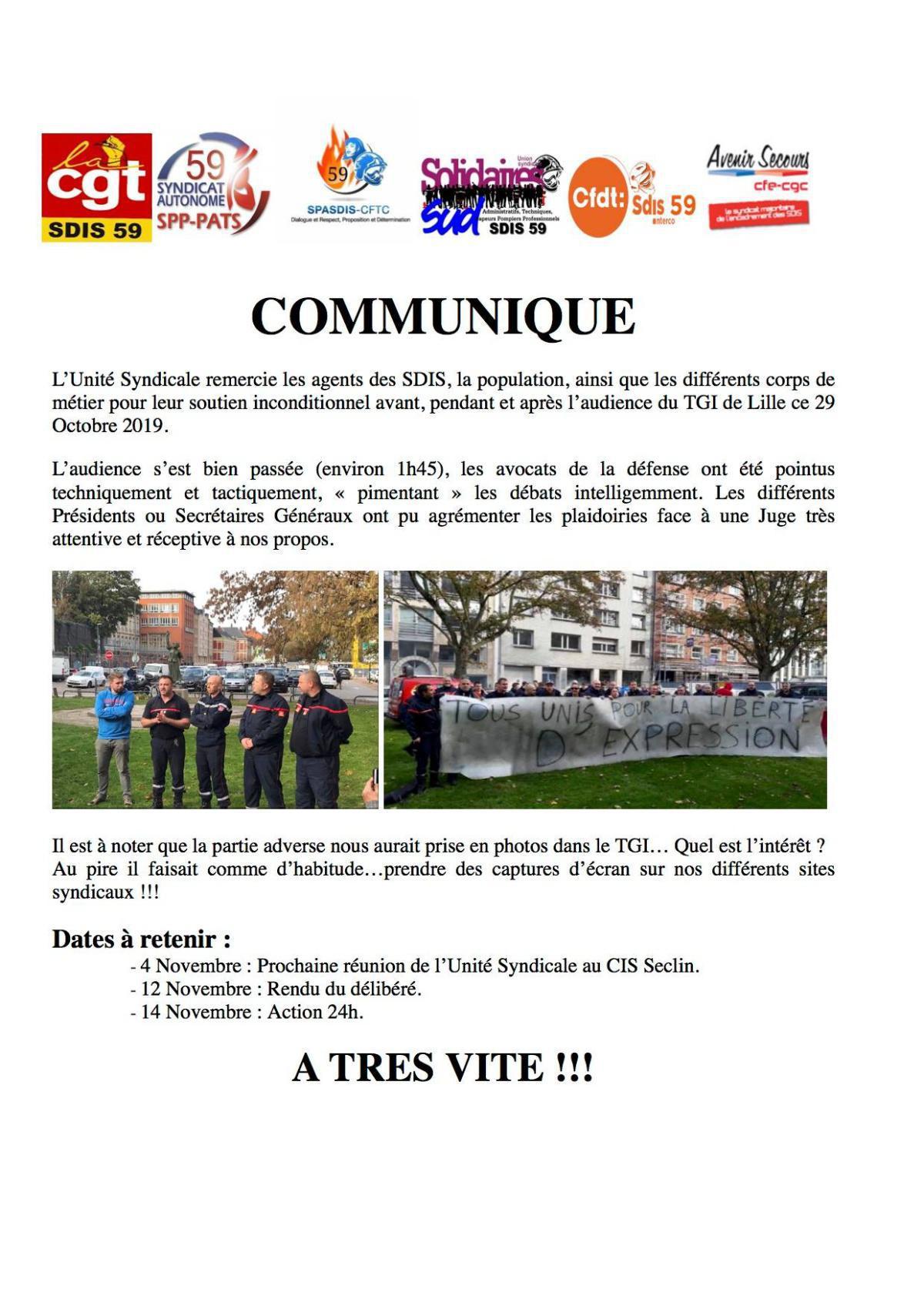 TIG de Lille ce 29 Octobre 2019