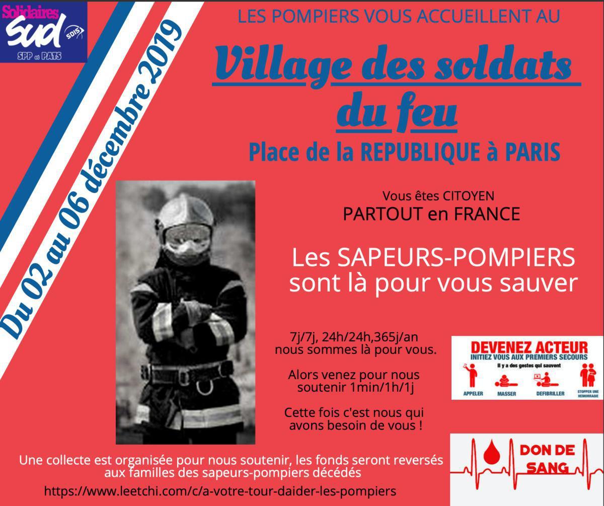 Je suis place de la république à Paris du 2 au 6 décembre et vous ?