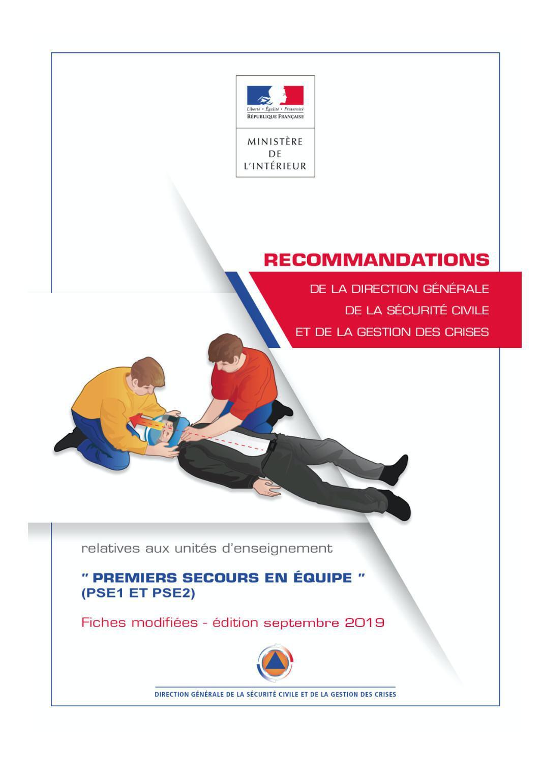 Recommandations PSE sept-2019