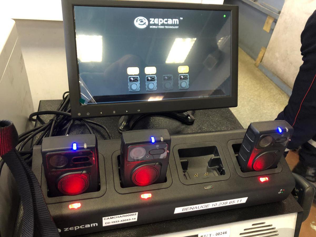 Caméras piéton au sein du SDIS 33