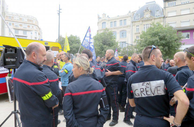 Un appel à la grève des pompiers ce samedi 11 janvier