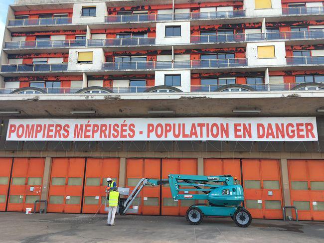 """7 mois après : """"Pas d'avancée significative"""" chez les pompiers"""