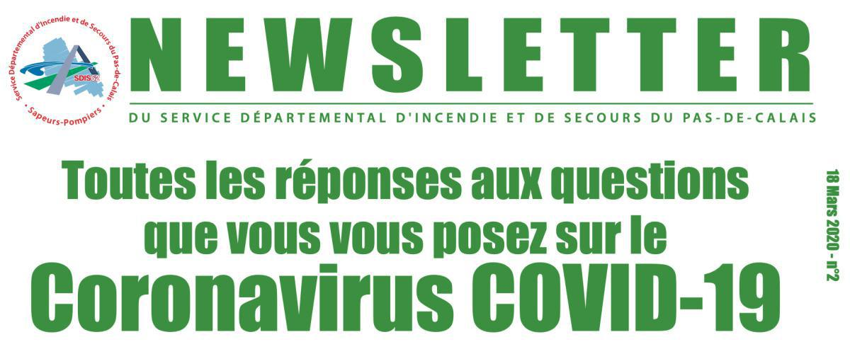 Edition spéciale coronavirus n°2