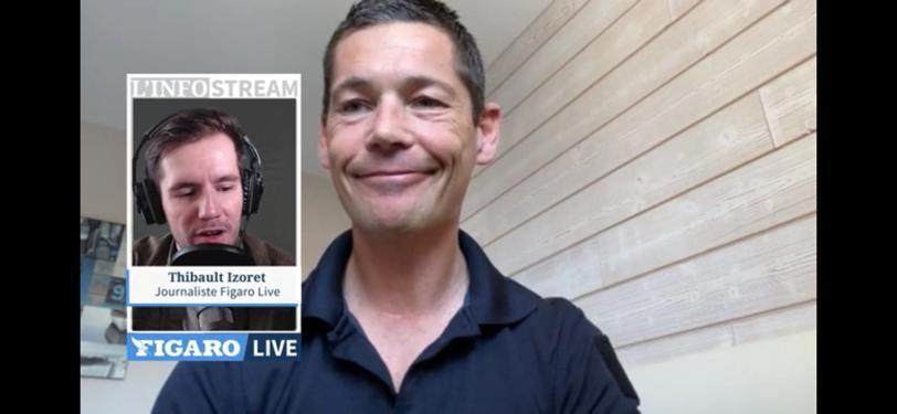 Thierry Sergent de la cellule communication Sud SDIS, était en direct à 11h sur Figaro Live