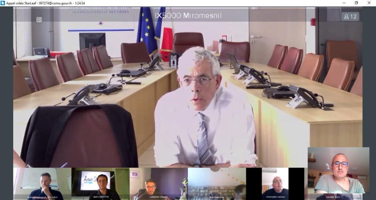 """Visio """"dialogue social"""" pour les OS membres du CSFPT"""