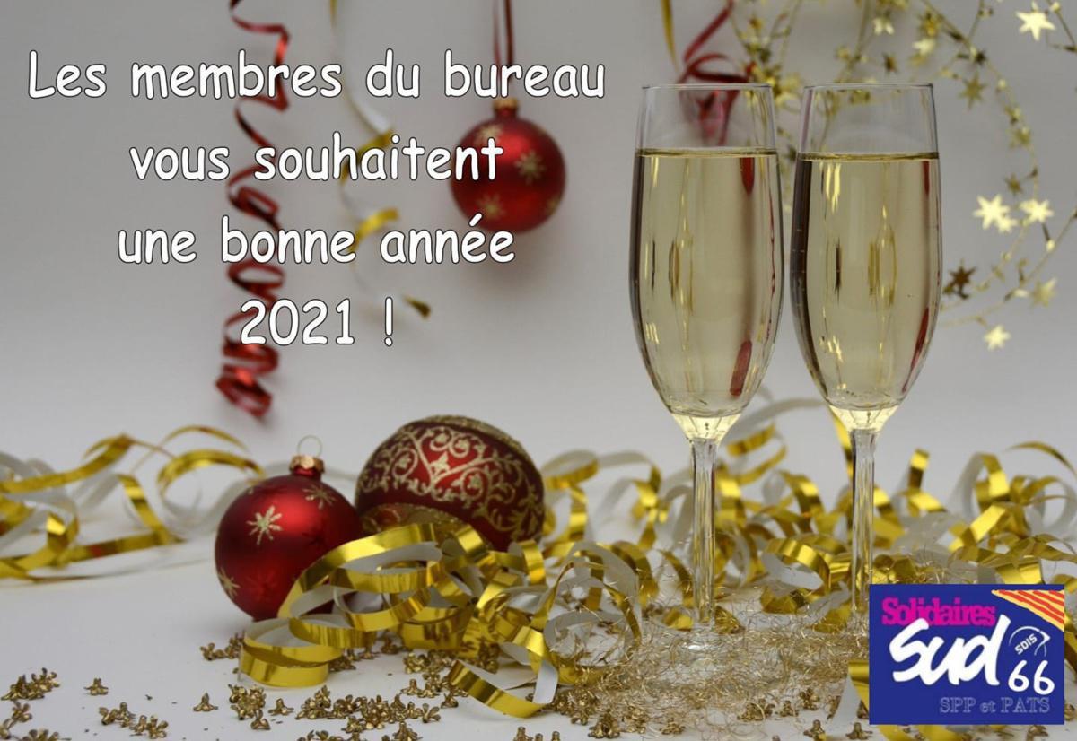 Bonne année à tous !