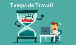 TEMPS DE TRAVAIL et COVID 19