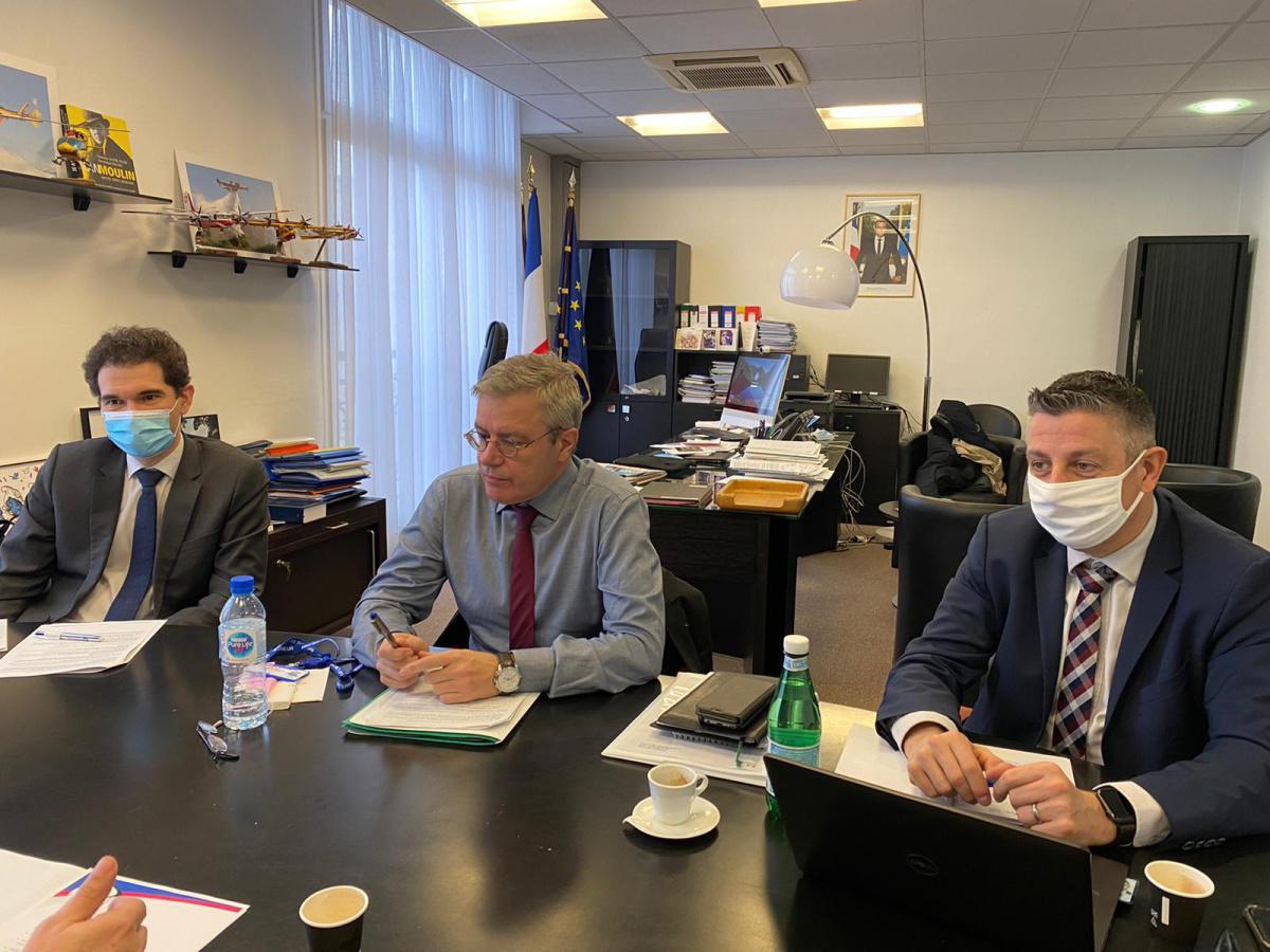 Entretien avec le Directeur Général de la DGSCGC M. Alain THIRION