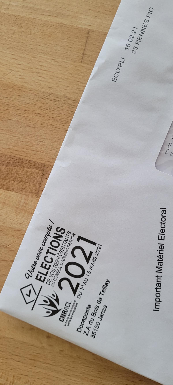 Elections des représentants au conseil d'administration de la CNRACL