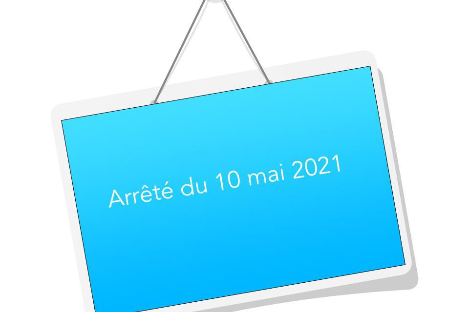 Arrêté du 10 mai 2021 modifiant l'annexe II de l'arrêté du 21 décembre 2020 portant organisation de la formation continue dans le domaine des premiers secours