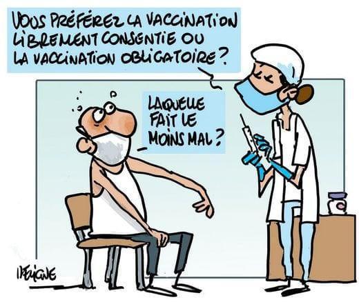 📌 Voici une demande d'entrevue URGENTE auprès de la direction à propos de ce sujet de la vaccination obligatoire