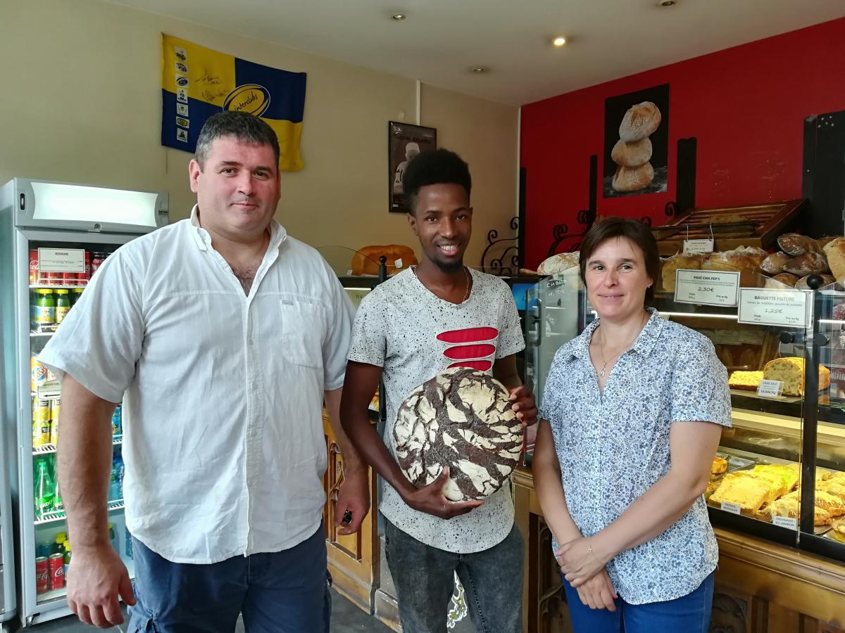 La boulangerie Le Pistore