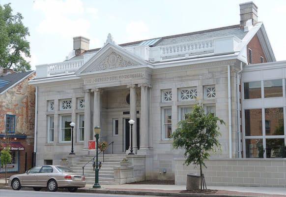 The Bosler Memorial Library & The Bookery