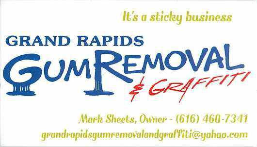 Grand Rapids Gum Removal