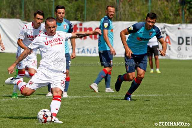 AMICAL. Dinamo București vs Chindia Târgoviște 2-2 (1-1)