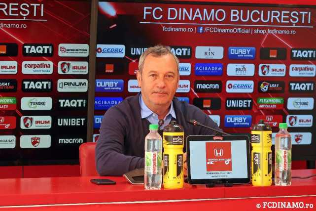 """PLAY-OUT (etapa 13). FC Botoșani vs Dinamo București. REDNIC: """"Suntem încă pe primul loc cu Mediaş la acelaşi număr de puncte şi e clar că ne dorim să câştigăm la Botoșani"""""""