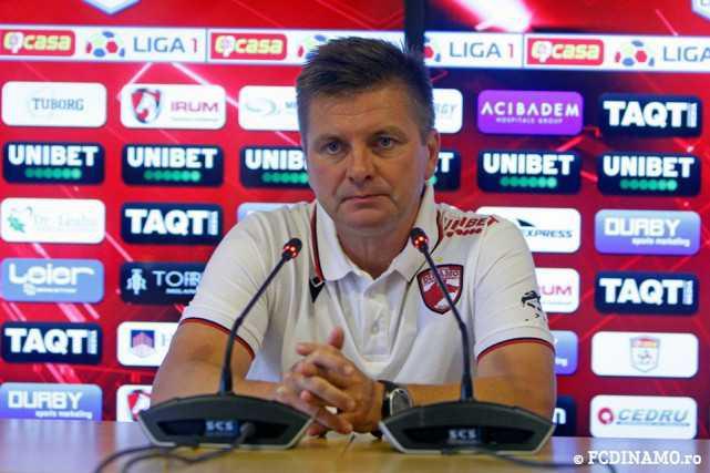 """UHRIN: """"Noi avem meci cu Voluntari, acum nu mă interesează FCSB, mâine jucăm acasă şi trebuie să luăm cele trei puncte!"""""""