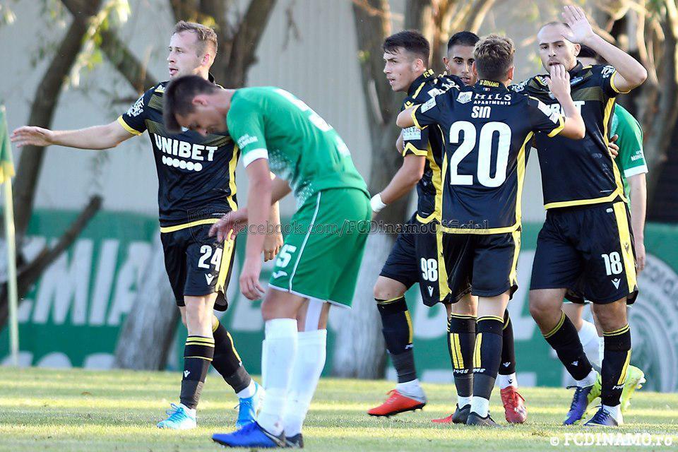 AMICAL la Chiajna. Concordia vs Dinamo 1-2 (1-1)