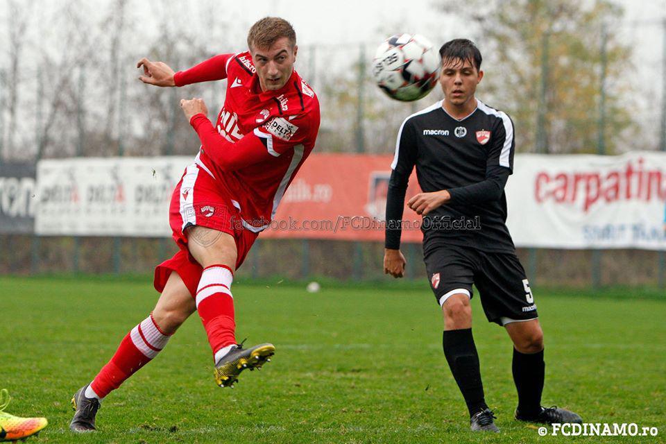 AMICAL la Săftica. Dinamo vs Dinamo U19 11-0 (4-0)