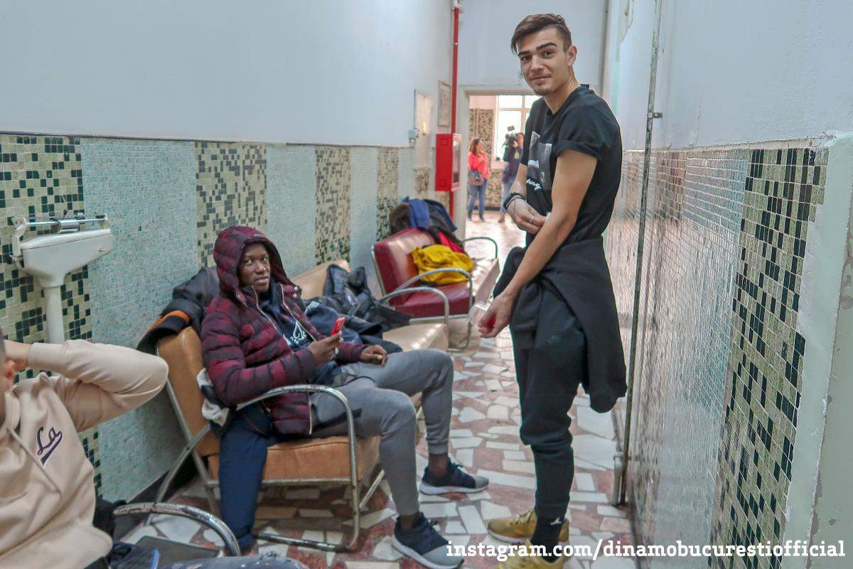Dinamoviștii la vizita medicală