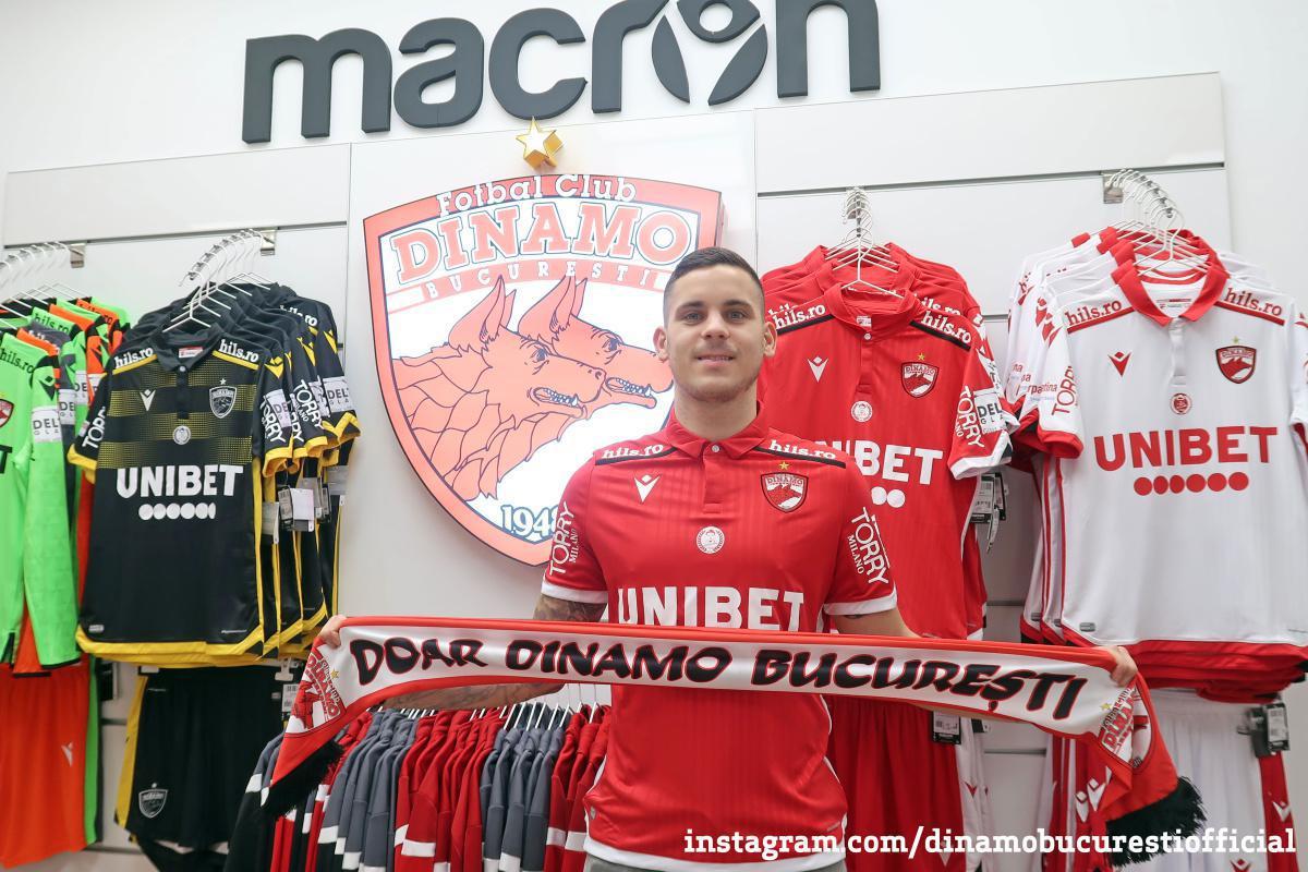 OFICIAL. Kristian Kostrna la Dinamo București
