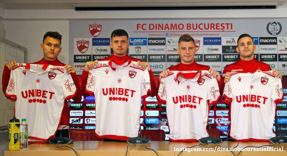 PREZENTARE OFICIALĂ. Toți pentru Dinamo!