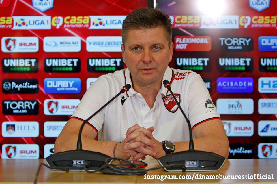 """UHRIN: """"Nu mă relaxez niciodată la Dinamo pentru că trebuie să avem rezultate mai bune"""""""