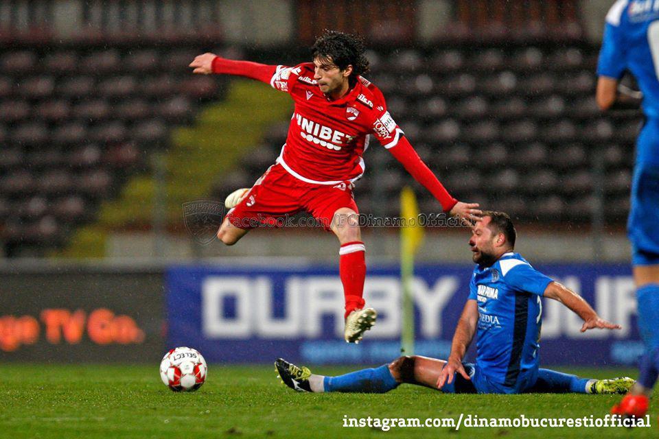 CASA Liga 1 (play-out, etapa 1). Dinamo București vs Academica Clinceni 0-1 (0-0)