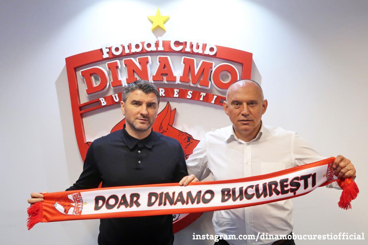 OFICIAL. Adrian Mihalcea la Dinamo București