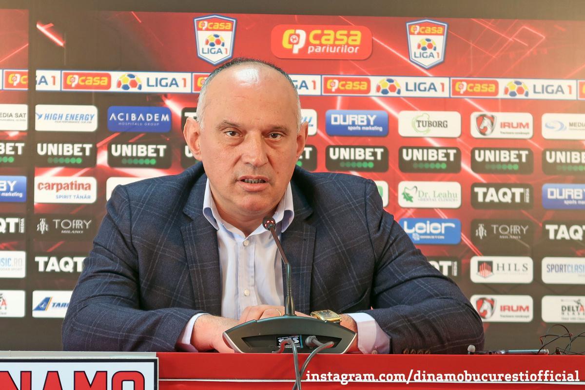 """PRUNEA: """"Din prima zi la Dinamo am picat într-un război cu automatele pe masă, nu-mi dau demisia!"""""""