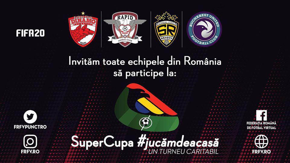 Dinamo în SuperCupa #jucămdeacasă