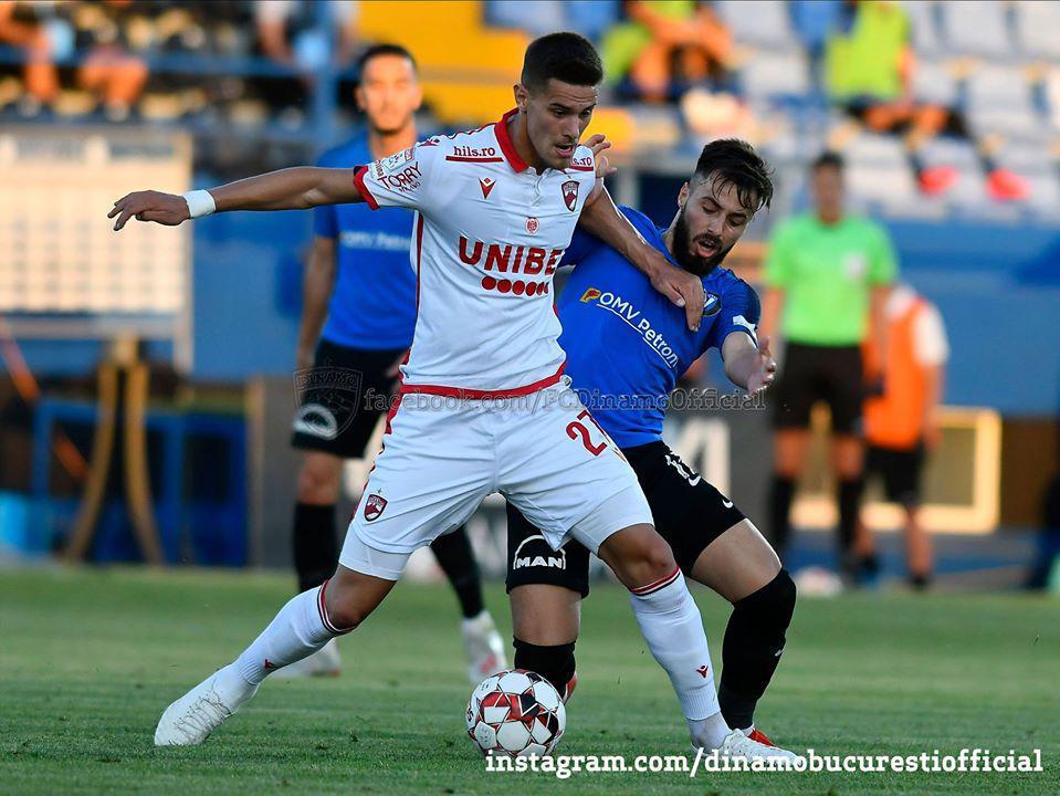 CASA Liga 1 (play-out, etapa 7). Viitorul Constanța vs Dinamo București 1-0 (1-0)