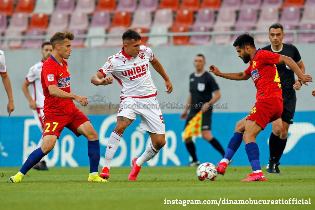 CUPA ROMÂNIEI (semifinale, manșa a doua). FCSB vs DINAMO 1-0 (1-0)