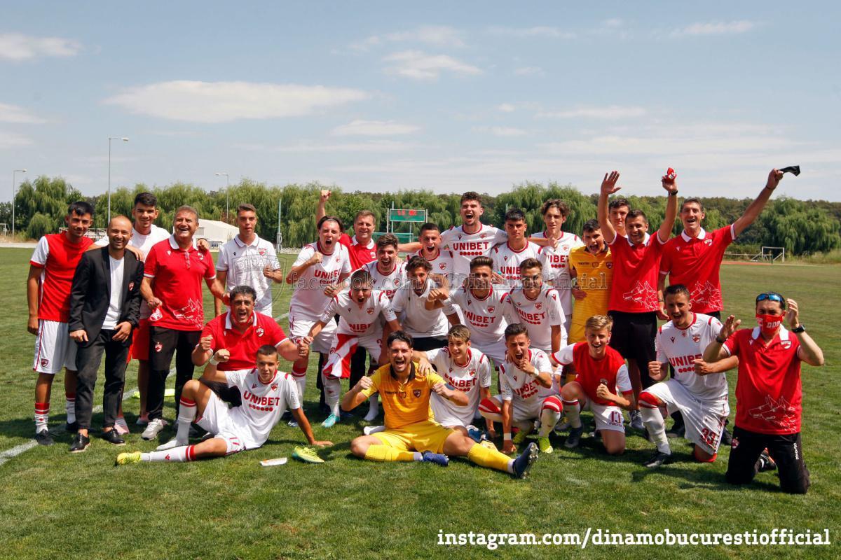 CALIFICARE! DINAMO în finala Ligii Elitelor U19!
