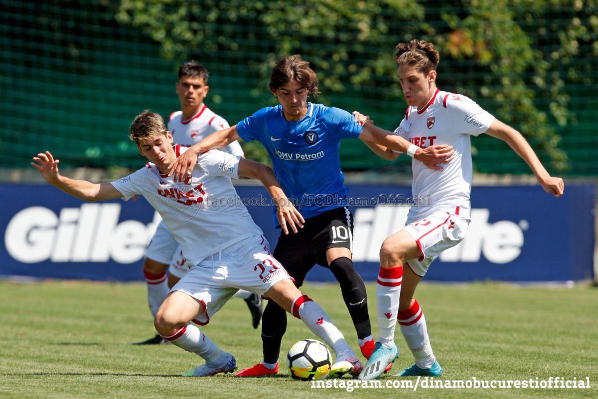 FINALA LIGII ELITELOR U19. Dinamo București vs Viitorul Constanța 5-6 după loviturile de departajare
