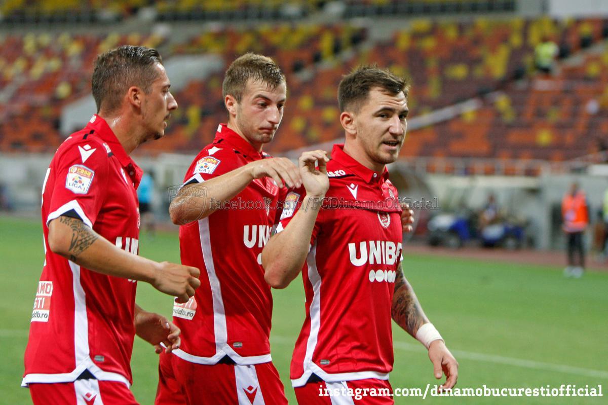 CASA Liga 1 (etapa 1). Dinamo București vs Hermannstadt 1-1 (0-1)