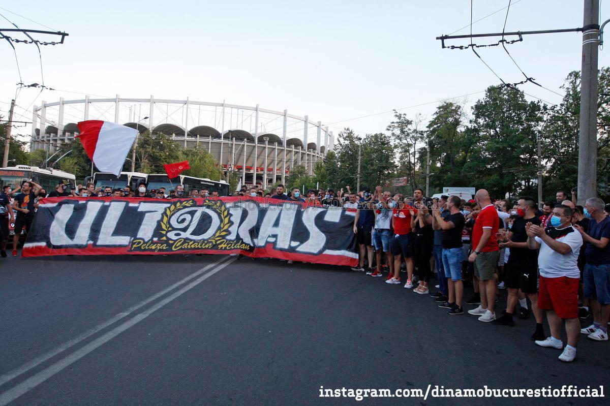 GALERIE FOTO. Toți pentru Dinamo!