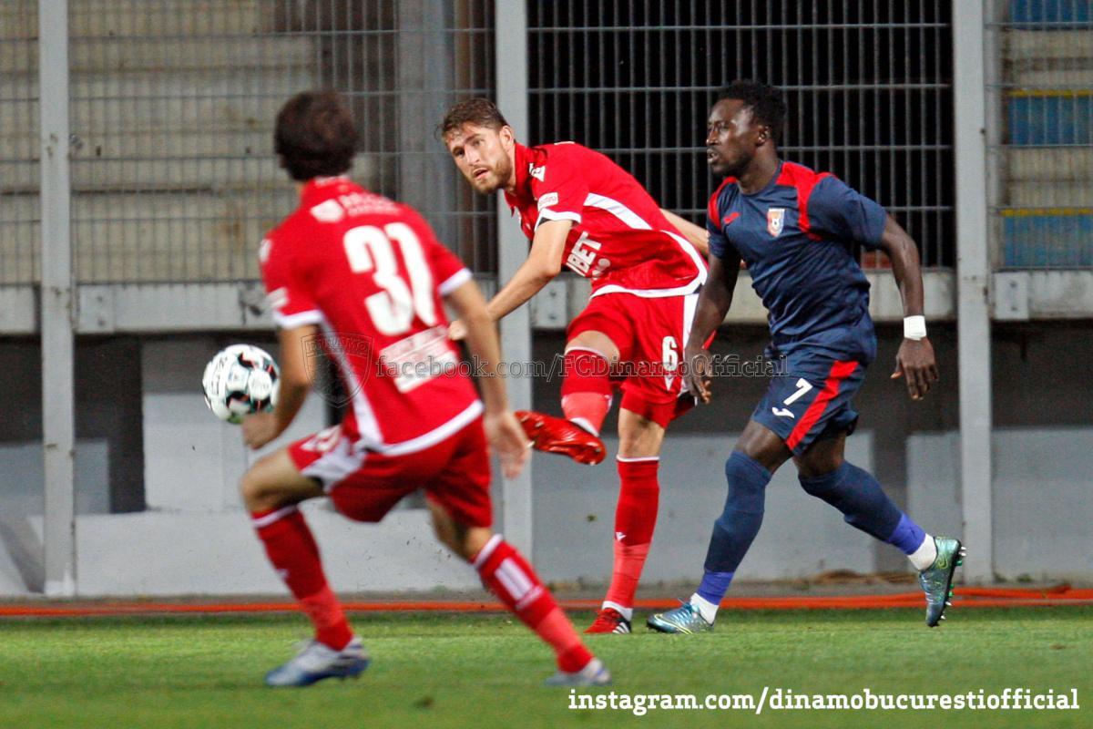 CASA Liga 1 (etapa 2). Chindia Târgoviște vs Dinamo București 1-0 (1-0)