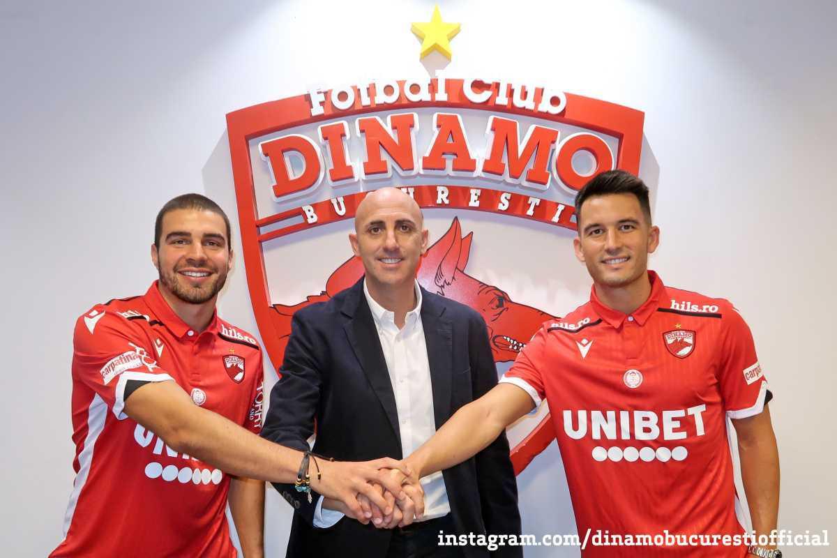 Bine ați venit la Dinamo București, Alexander David Gonzalez și Ismael Lopez Blanco!