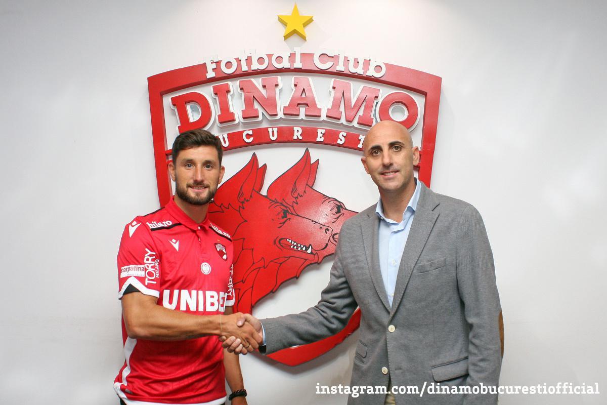 Bun venit la Dinamo București, Borja Valle Balonga!