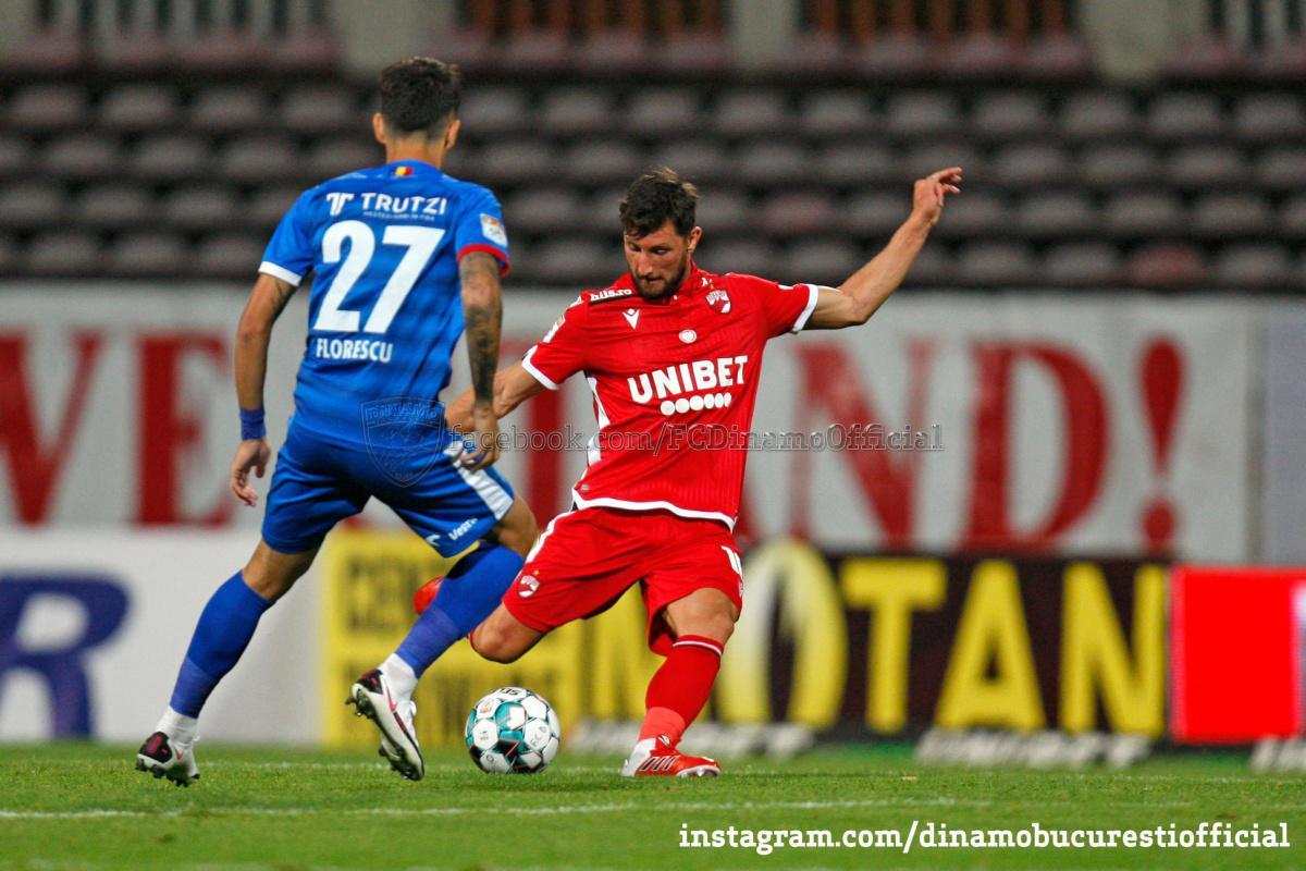 CASA Liga 1 (etapa 3). Dinamo București vs FC Botoșani 1-1 (0-1)