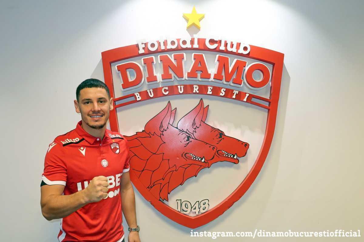 VIDEO. Noul număr 8 de la Dinamo