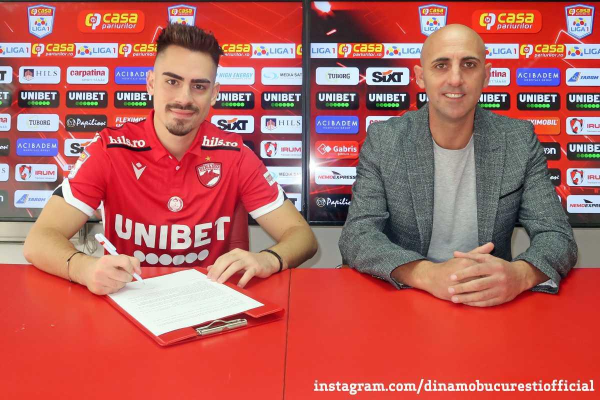 OFICIAL. Bine ai revenit la Dinamo București, Andrei Radu!
