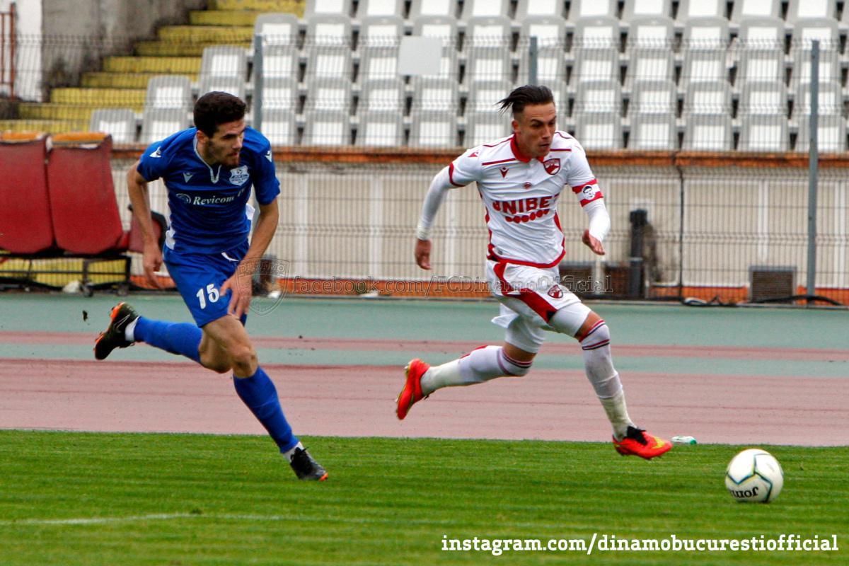 LIGA 3. Dinamo 2 București vs Metalul Buzău 2-2 (0-1)