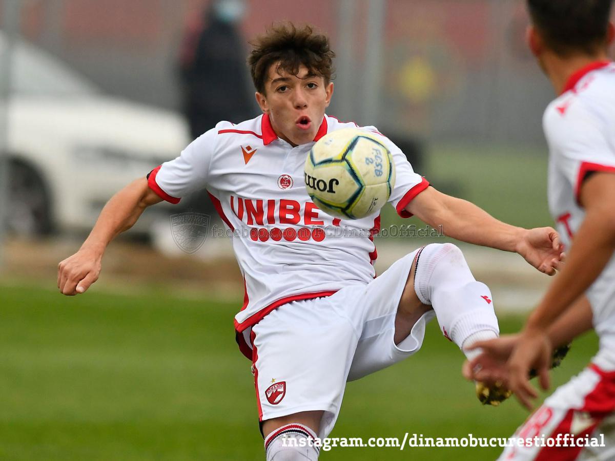 LIGA ELITELOR. Înfrângere pentru Dinamo U19, victorie pentru Dinamo U17