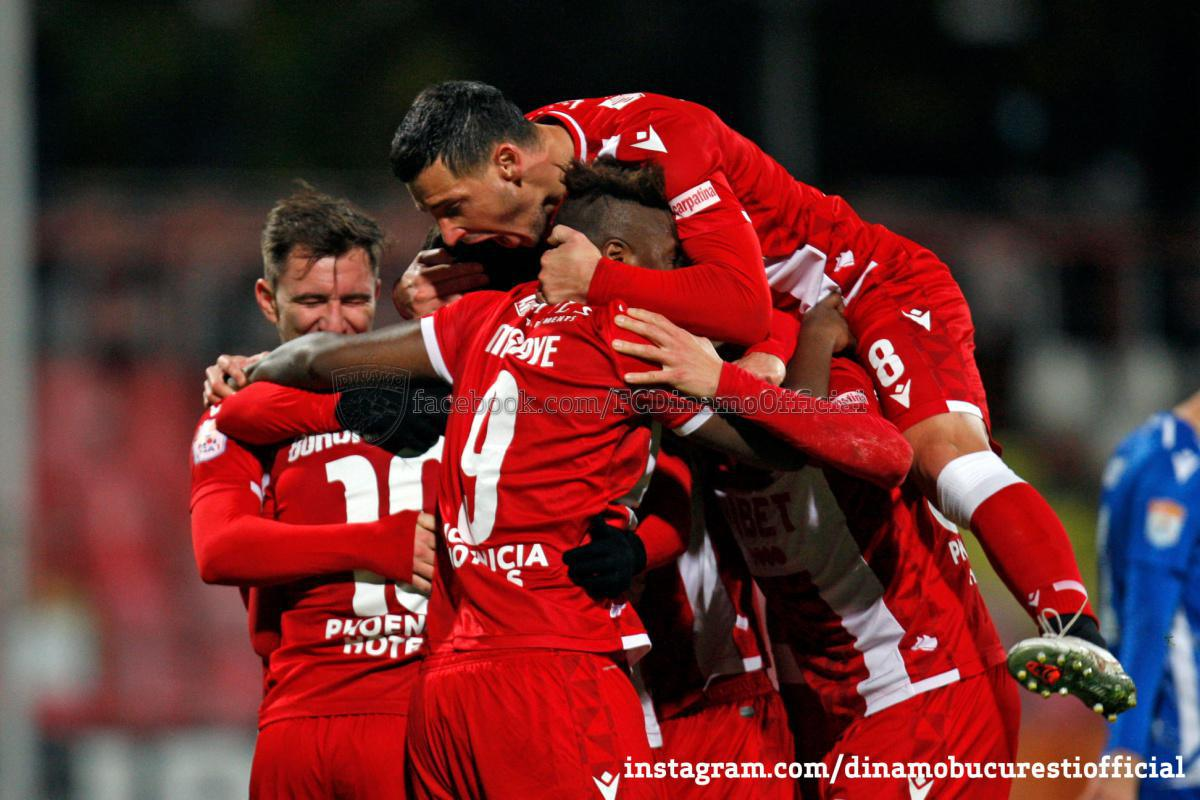 GALERIE FOTO. Dinamo București vs FC Voluntari 3-0 în imagini